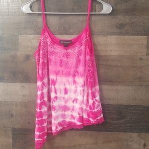 INC pink tank top